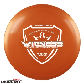 Dynamic Discs Witness Fusion
