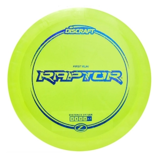 Discraft Raptor Z Line First Run